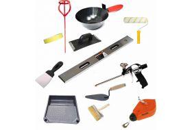 Малярно-штукатурный инструмент и материалы