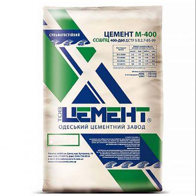 Цемент сульфатостойкий ССШПЦ 400-Д60, 25кг, Одесский