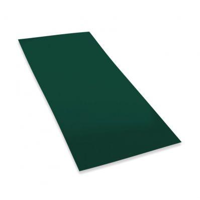 Лист оцинкованный 0.25мм, 2х1м, зеленый
