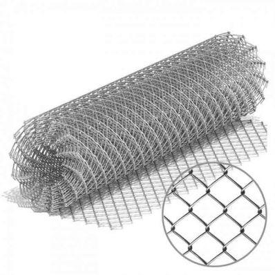 Сетка-рабица оцинкованная 50х1.7мм, 2х10м