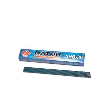 Электроды АНО-36, 3мм, Патоновские, пачка 5кг