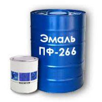 Эмаль ПФ-266 желто-коричневая, 50 кг, Амид