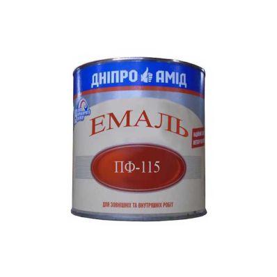 Эмаль ПФ-115 желтая, 0,9кг, Амид ТУ