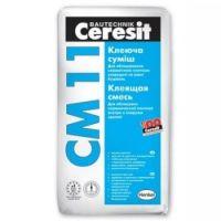 Клей для плитки СМ-11, 25кг, Ceresit