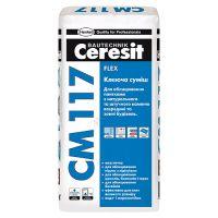 Клей эластичный СМ-117 Flex, 25кг, Ceresit