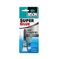 Супер клей Super Glue, 3гр, Bison