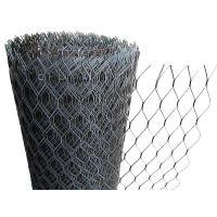Сетка просечно-вытяжная, 25х60х0.6мм хк, 10х1м