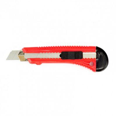Нож с выдвижным сменным лезвием 18мм