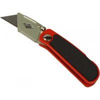 Нож складной 18х60мм сменное трапециевидное лезвие, MТХ