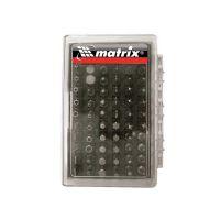 Набор бит с магнитным держателем, CrV, 61 шт. Matrix