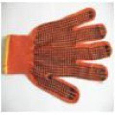 Перчатки черные с точкой ПВХ с 2-х сторон
