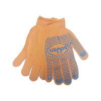 Перчатки с точкой ПВХ с 1-ой стороны 10К, 3 нити, 152 текстиль
