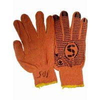 Перчатки с точкой ПВХ с 1-ой стороны 10К, 2 нити, 108 текстиль