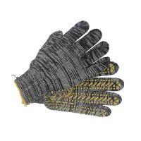 Перчатки с точкой ПВХ с 1-ой стороны 10К, 2 нити, 130 текстиль