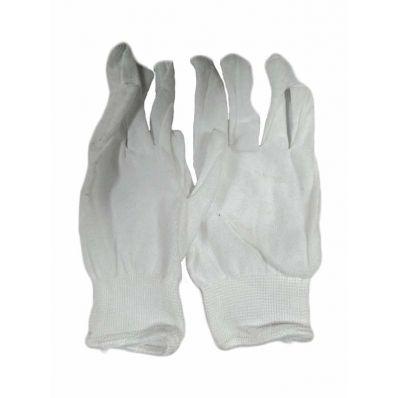 Перчатки из полиэстера белые, 18г