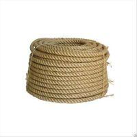 Веревка джутовая 12мм